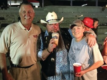 Hanging wit ''Sundance Head'' while he's sippin on dat frozen ''sweet'' tea at da Little Walter Festival on dat river in Alexandria, Louisiana